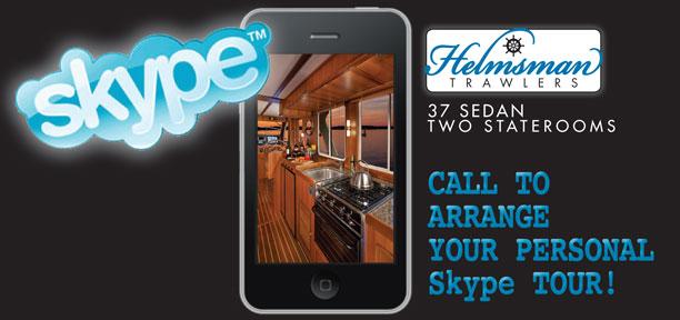 Helmsman Trawlers Skype-Tour